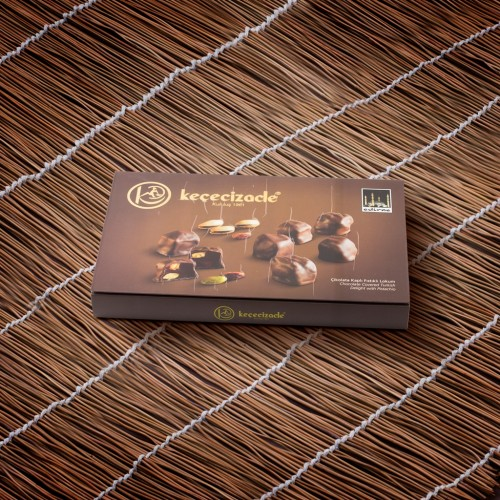 Chocolate Coated Pistachio Turkish Delight 610GR