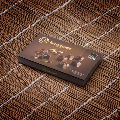 Chocolate Coated Pistachio Turkish Delight 330GR