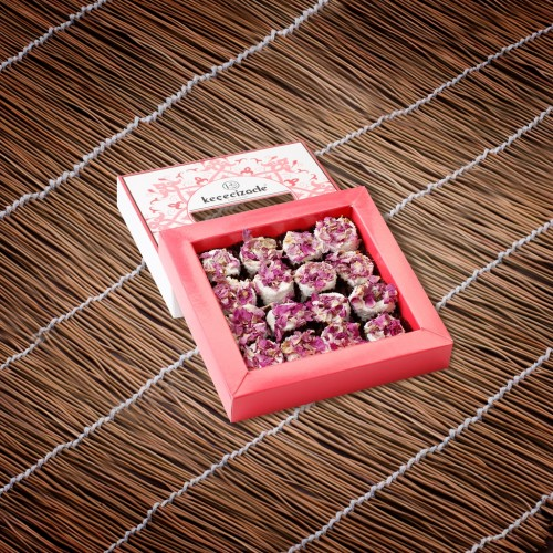 Turkish Delight With Rose Leaves 275GR