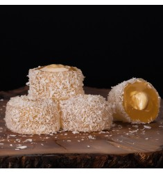 Coconut Covered Turkish Delight With Nut 400GR